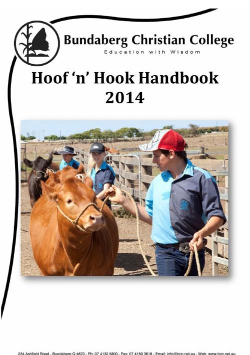 Hoof'n'Hook handbook 2014