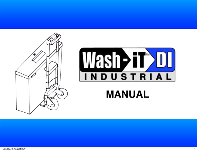 Wash-iT DI INDUSTRIAL