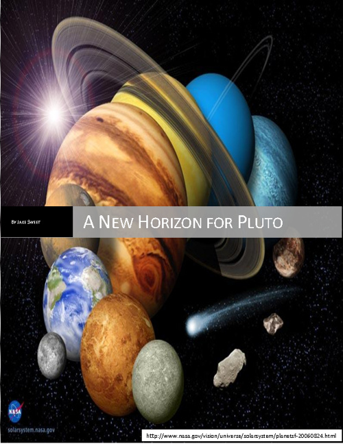 New Horizon for Pluto!!!╝╚