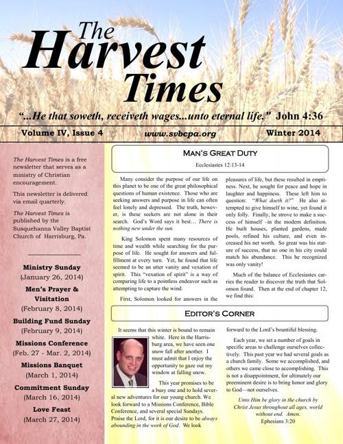 Harvest Times IV, 4