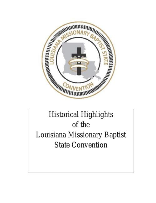 2015 HISTORICAL HIGHLIGHTS OF THE LMBSC
