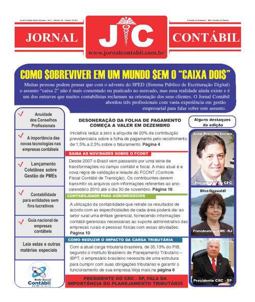 Jornal Contábil - Outubro de 2011