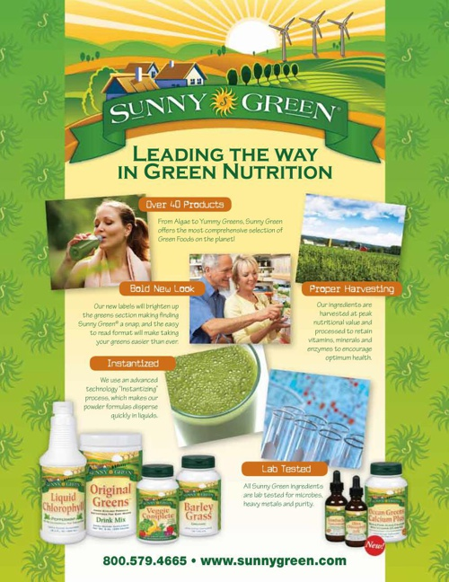 Sunny Green Product Info Guide