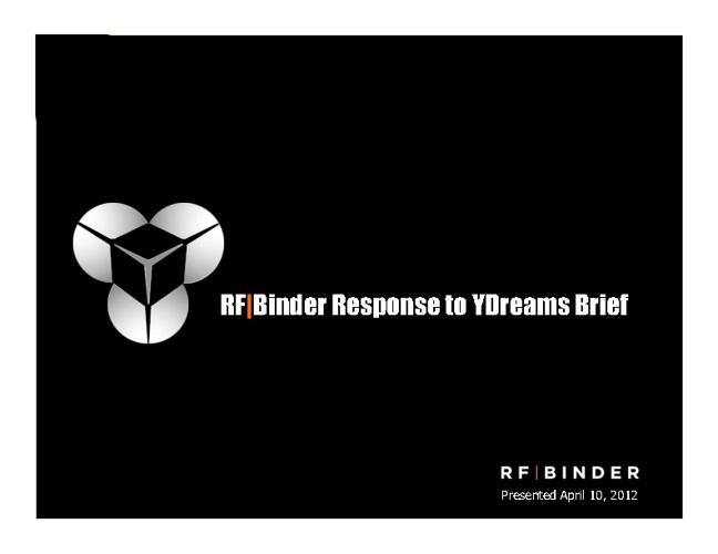 RF Binder Response to YDreams Brief