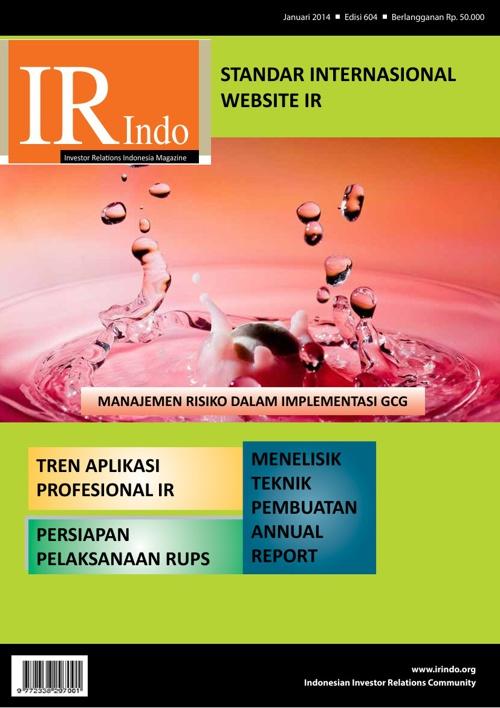 IR Indonesia Magazine edisi Januari 2014