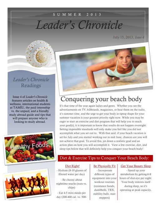 Leaders Chronicle
