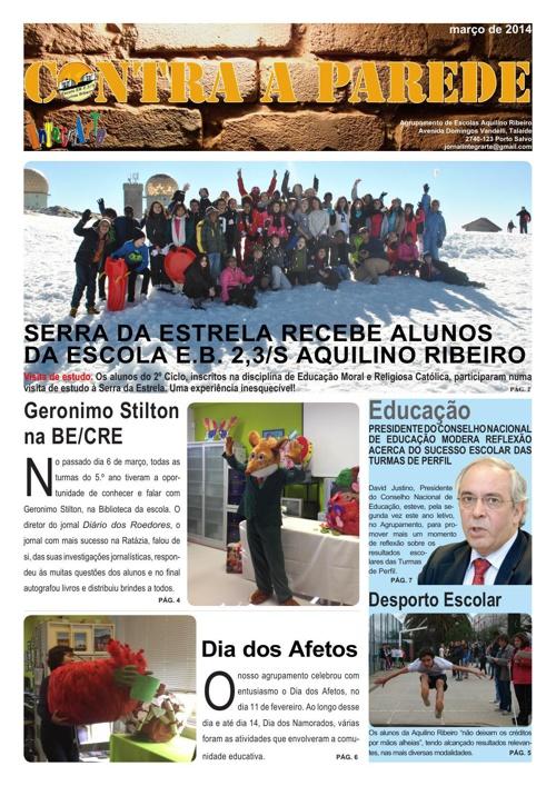 Jornal Contra a Parede - marco 2014
