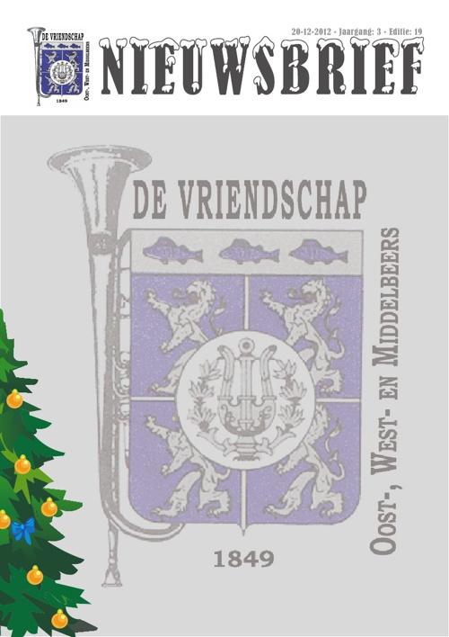Nieuwsbrief 19 De Vriendschap