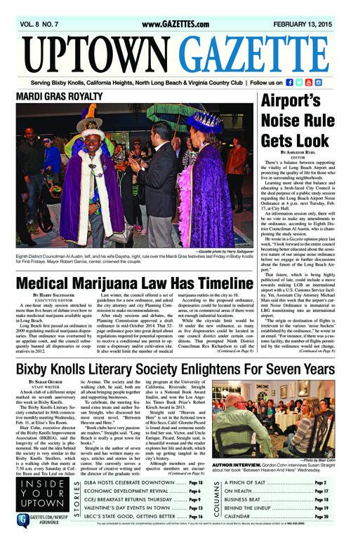 Uptown Gazette  |  February 13, 2015