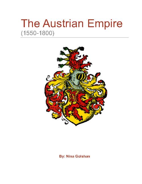 Austria (1550-1800)