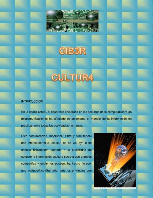 CIBER CULTURA