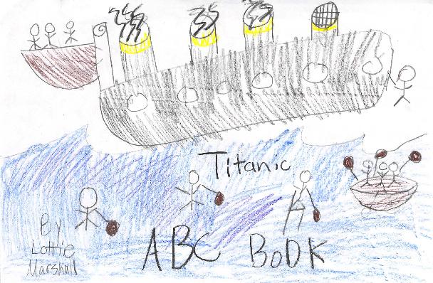 Titanic A-Z by Lottie M
