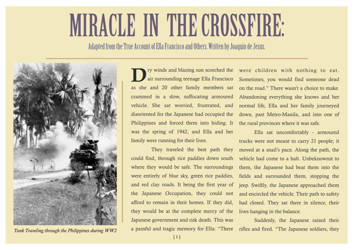 A Miracle in the Crossfire