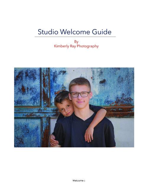 KRP Welcome Studio Guide