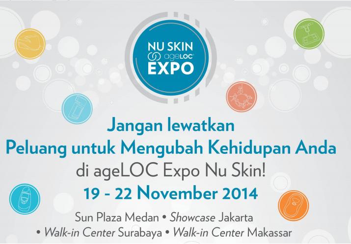 Nu Skin Expo @ Medan, 19 - 22 November 2014
