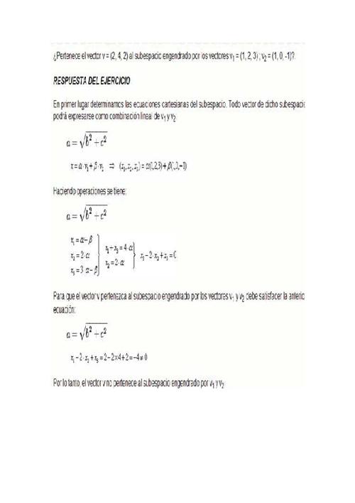 Ejercicios Bases y dimensiones
