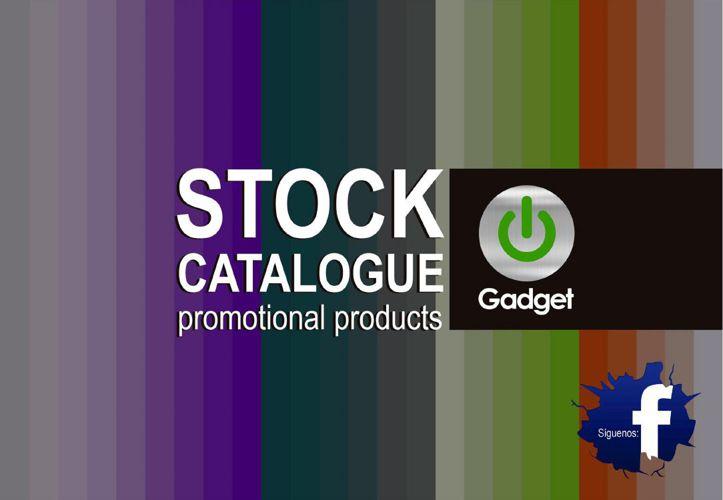 GADGET - CATÁLOGO DE PRODUCTOS