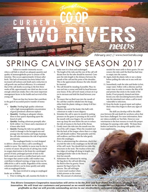 Two Rivers Newsletter | February 2017
