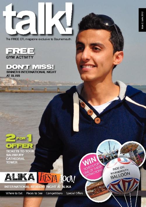 Talk mag June 12