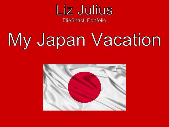 FlipSnack Portfolio - Liz Julius