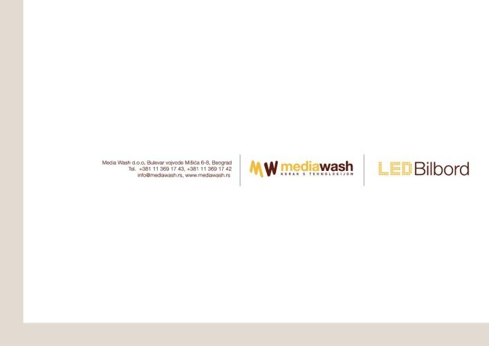 Media Wash Brošura