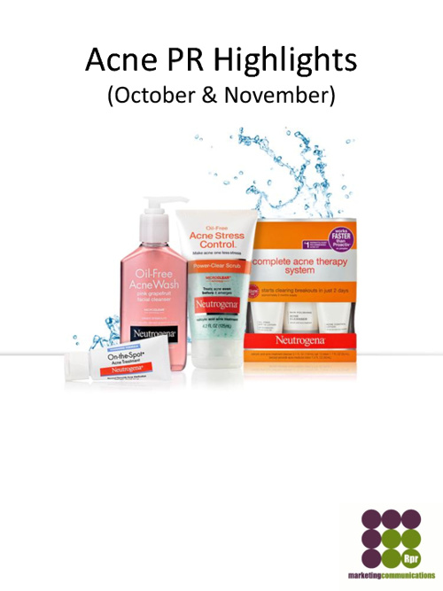 Neutrogena: Acne PR Highlights