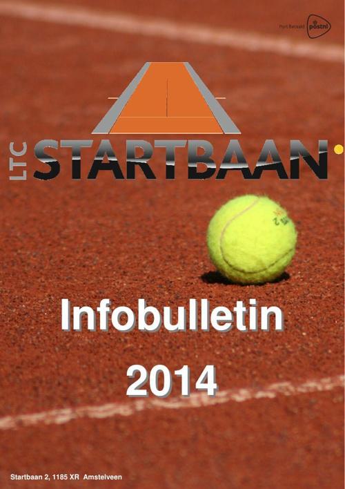 Info bulletin 2014 LTC Startbaan