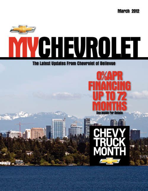 Chevrolet of Bellevue March Issue