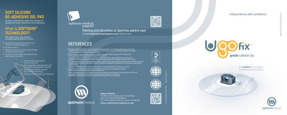 Ugo Fix Gentle Catheter Clip - Brochure