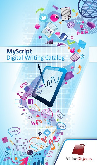 MyScript Digital Writing Catalog