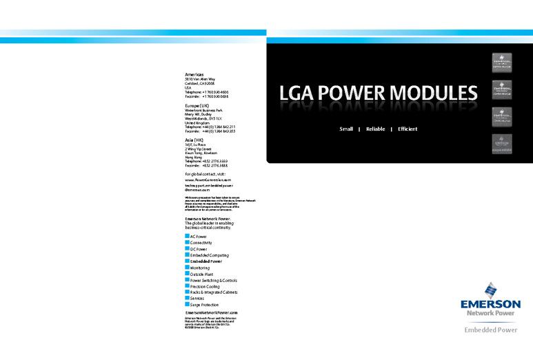 LGA Brochure