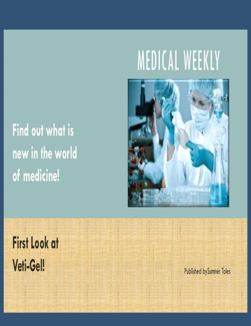 Articles for medical weekly by Sumner Toles