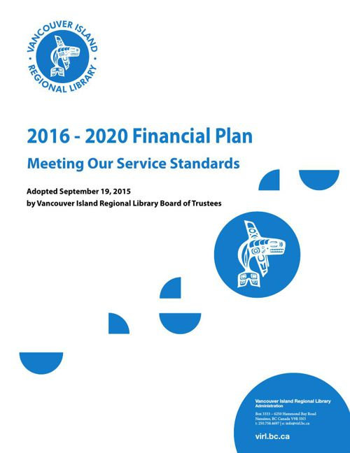 2016-2020 Financial Plan (Adopted) flipping book