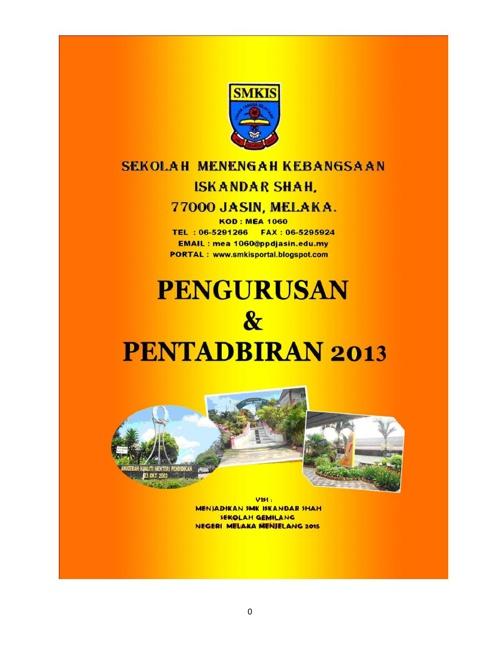 Buku Pengurusan dan Pentadbiran 2013(edit2)