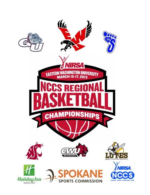 NIRSA NCCS EWU Regional Basketball Tournament Program