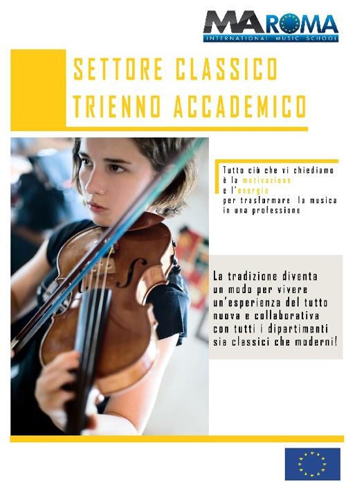 Brochure Musica Classica