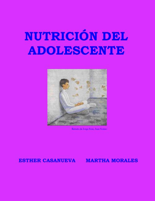 NUTRICION DEL ADOLESCENTE