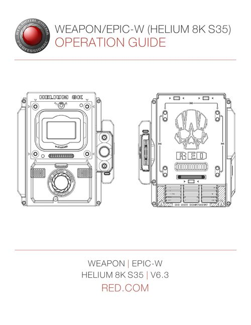 RED WEAPON User Guide