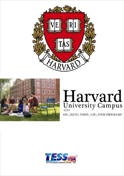 Booklet Harvard- TESS USA & Carlos