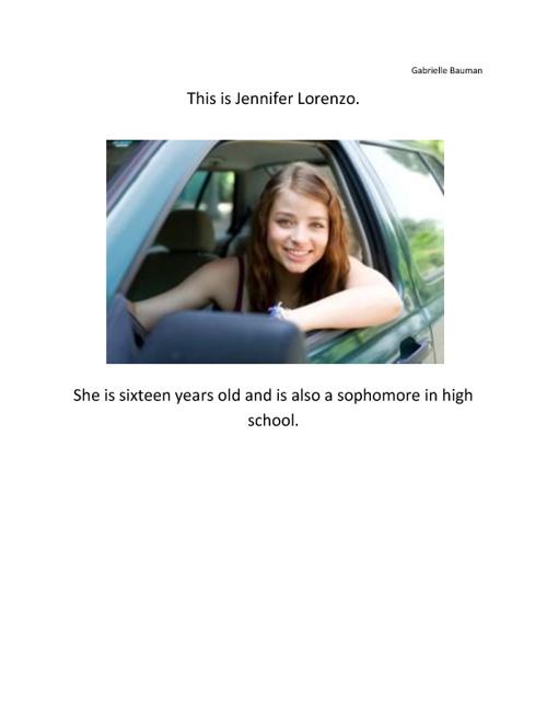 Jennifer Lorenzo by Gabrielle Bauman