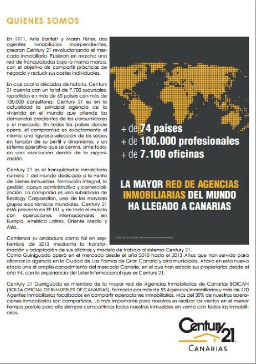Century 21 Canarias test revista