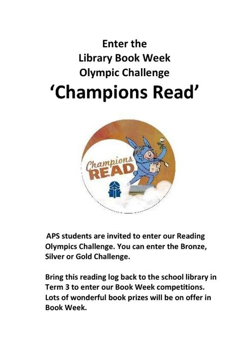 APS Reading Log