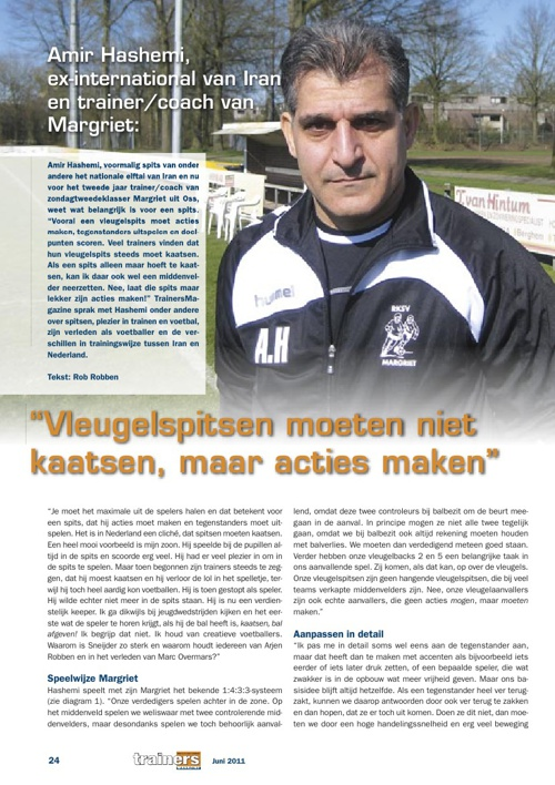 Interview Trainers Magazine
