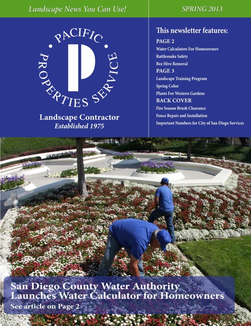 PPS Spring Newsletter 2013
