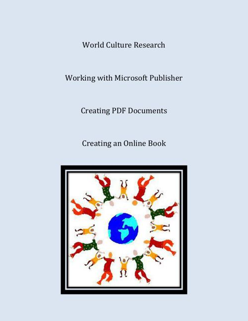 - Culture Research & Brochure -