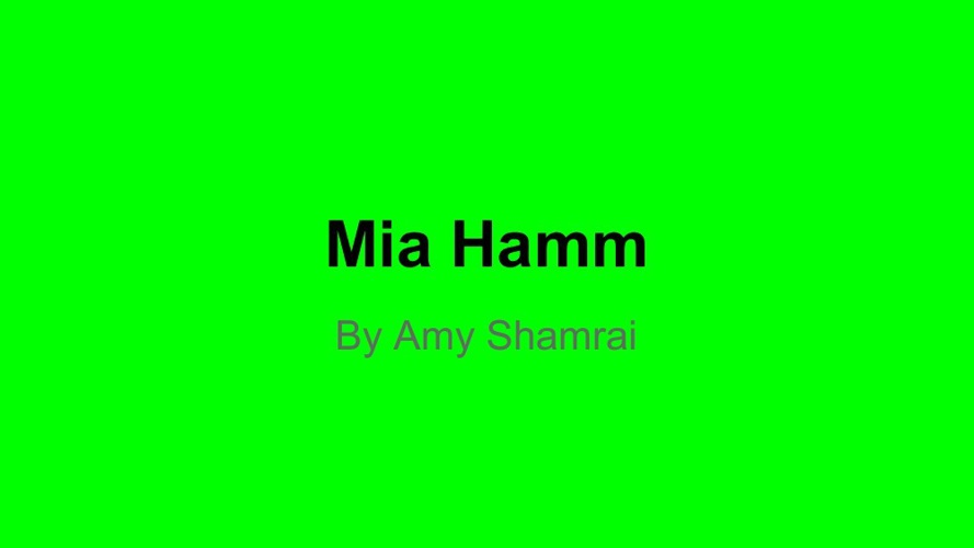 Copy of Mia Hamm
