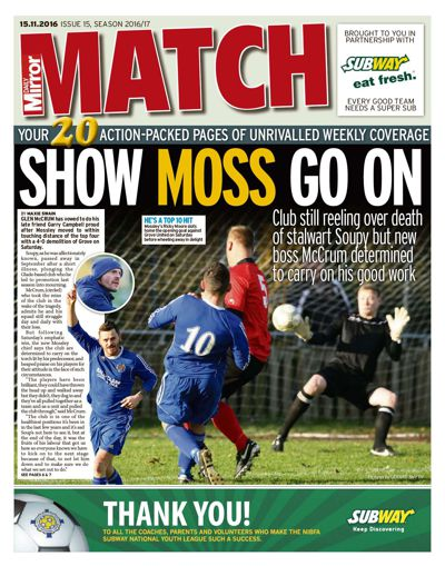 Match issue 15, Season 2016/17