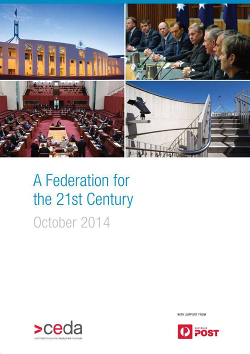 A Federation for the 21st Century - October 2014