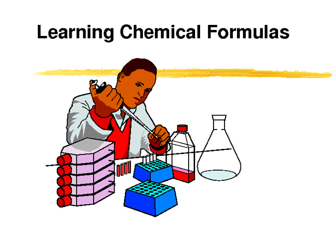 Learning Chemical Formula
