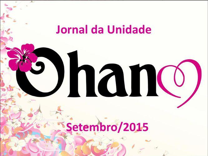 Jornal da Unidade Ohana S/A - Setembro2015